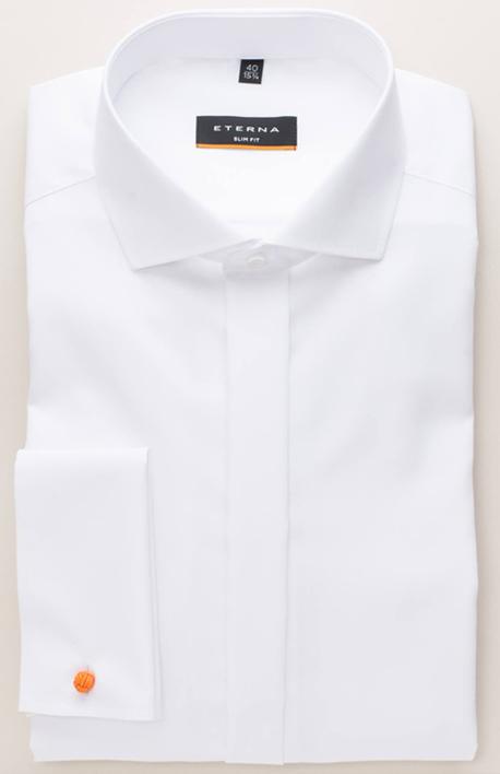 Weißes zusammengefaltetes Hemd