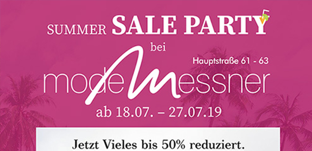 Summer Sale Party